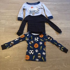Children's place long sleeve shirt bundle